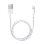 Apple Lightning / USB USB cable 0.5 m USB A White