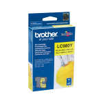 Brother LC-980Y ink cartridge Original yellow 1 pc(s)