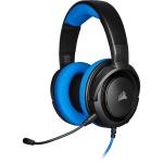 Corsair HS35 Binaural Head-band Black,Blue