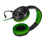 Corsair HS35 Binaural Head-band Black,Green