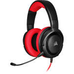 Corsair HS35 Binaural Head-band Black,Red