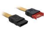 DeLOCK 0.5m SATA III SATA cable Brown
