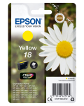 Epson Daisy Singlepack Yellow 18 Claria Home Ink