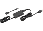 HP 45W Smart AC Adapter power adapter/inverter Indoor Black