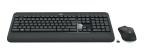 Logitech MK540 Advanced, Wireless Keyboard + Mouse, Unifying receiver, Pan Nordic