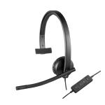 Logitech H570e, USB, Mono, 31.5Hz-20kHz, 100Hz-18kHz Mic