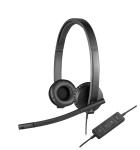 Logitech H570e, USB, 31.5 - 20000 Hz, 94 dB