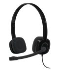 Logitech H151 Binaural Head-band Black