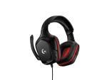 Logitech G332 Binaural Head-band Black,Red